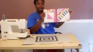 Download Easy Quilting: Joining Quilt As You Go Blocks! Video