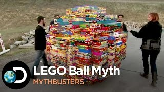 Download Busting The Famous Youtube LEGO Ball Myth | Mythbusters Video