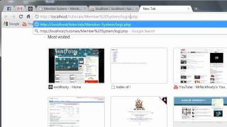 Download PHP Tutorial: Make a Member System // User Login (3/3) Video