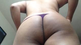 Download Nancy Crossdresser - purple thong Video