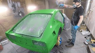 Download Finally Getting Good Paint On The 240z! Video