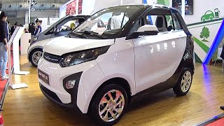 Download Zotye Zhima E30 EV 2016, 2017 Hybrid and electric vehicle the Shanghai Auto Show in China Video