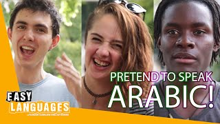 Download How does Arabic sound to non-Arabic speakers? Video