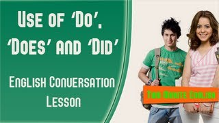 Download Use of 'Do', 'Does' and 'Did' - Common Grammar Mistakes in English Video