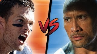 Download TOM BRADY TAKES ON THE ROCK Video