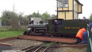 Download The Bure Valley Narrow Gauge Railway, Norfolk, U.K. Video