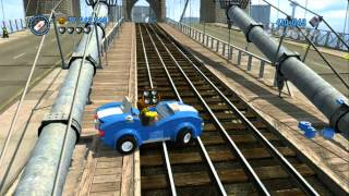 Download LEGO City Undercover - All 13 Vehicle Robberies Completed Video