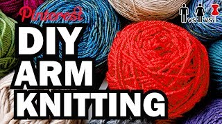 Download DIY Arm Knitting - Man Vs Corinne Vs Pin Video
