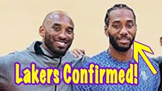 Download Kawhi Leonard FINALLY SMILES Standing Next To Kobe! Move To Lakers CONFIRMED?! Video