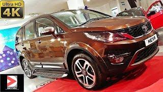 Download Tata Hexa Downtown Urban Bronze 4K Walkaround #Cars@Dinos Video