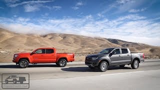Download 2019 Ford Ranger vs. 2018 Toyota Tacoma: Real-World Test — Pickuptrucks Video