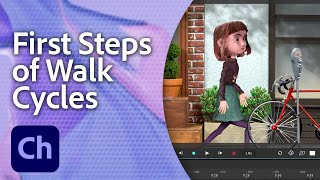 Download Teach Your Illustrated Character How to Walk | Adobe Creative Cloud Video