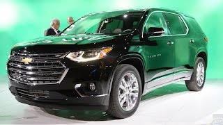 Download 2018 Chevrolet Traverse - 2017 Detroit Auto Show Video