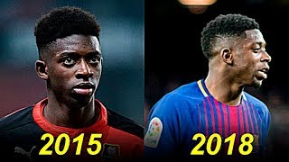 Download Ousmane Dembele - Evolution From 18 To 21 Years Old Video
