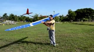 Download Maiden flight RC Glider Maxa 4m EL in Lampang Video