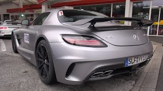 Download Mercedes-Benz SLS AMG Black Series - Lovely Sounds! Video