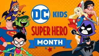 Download 🔴 Watch Now Live: DC Super Hero Month | Super Fun Time! | DC Kids Video