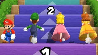 Download Mario Party 9 - Step It Up - Mario VS Luigi VS Peach VS Daisy (Master Difficulty) Video
