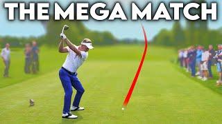 Download THE MEGA MATCH - Luke Donald, Chris Wood, Rick Shiels, Me + CROWDS! Video