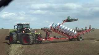 Download New CLAAS Xerion 5000 modell 2014 Erlkönig Kverneland Video