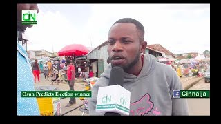 Download OSUN PEOPLE PREDICT ELECTION WINNER Video