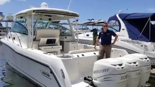 Download 2015 Boston Whaler 345 Conquest Boat For Sale at MarineMax Sarasota Video