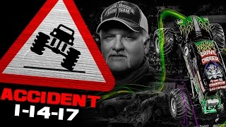 Download Grave Digger FLIP ACCIDENT - Tampa, FL - January 14, 2017 Video