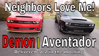 Download New Demon arrives with an Aventador? Video
