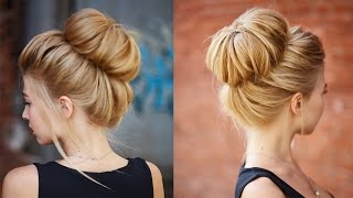 Download Chic textured bun updo for prom / wedding Video