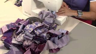 Download 40 minute scrap quilt with Valerie Nesbitt Video