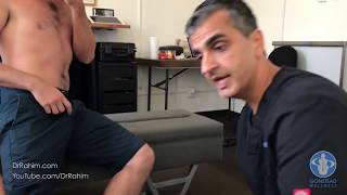 Download Skateboarder Sprains Knee and Pelvis - HELPED with Dr. Rahim Gonstead Chiropractor Video