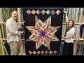 Download FREE PATTERN + One Jelly Roll = Lone Star Quilt! Video
