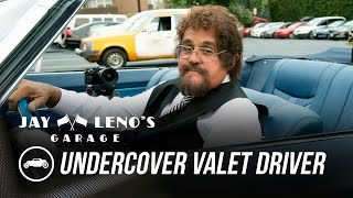 Download Jay Leno Goes Undercover as a Valet Driver - Jay Leno's Garage Video
