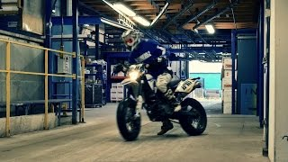 Download SMF #43: Urban Supermoto Ride Inside A Factory - World Is A Playground Pt. II - Supermofools Video