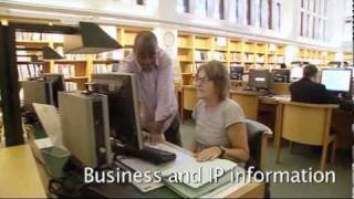 Download Virtual tour of the British Library Business & IP Centre in London Video