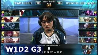 Download TL vs CLG | Week 1 Day 2 S9 LCS Spring 2019 (ex-NA LCS) | Team Liquid vs CLG W1D2 Video