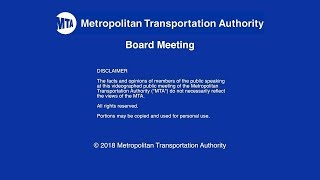 Download MTA Board - MNR Committee Meeting - 11/13/2018 Video