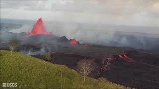 Download Kīlauea Volcano — Overflight Video Compilation Video