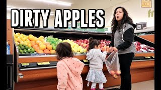 Download WE BOUGHT DIRTY APPLES! - ItsJudysLife Vlogs Video