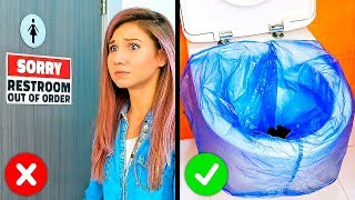 Download 33 LIFE-SAVING HACKS FOR ANY KIND OF TROUBLE Video