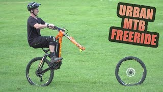 Download URBAN MTB FREERIDE AND NEW BIKE PARTS! Video