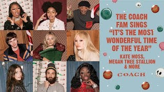 "Download The Coach Fam Sings ""It's the Most Wonderful Time of the Year"" Video"