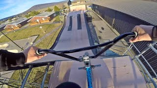 Download Mega Ramp at Woodward! (Merritt BMX Trip) Video