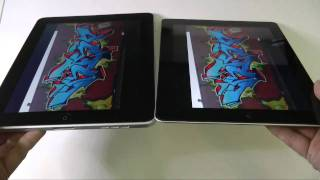 Download Apple iPad 2 vs iPad 1 Screen Comparison Video