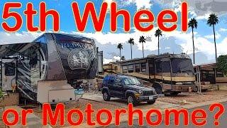 Download 5th Wheel vs Motorhome - Full Time RV Living Video