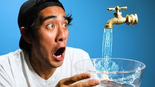 Download Satisfying Water Illusion Tricks w/ Zach King Video