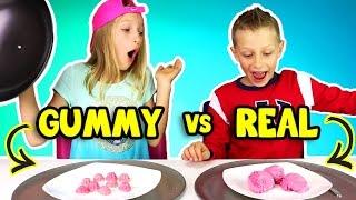 Download GUMMY vs REAL FOOD 3! Video