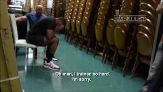 Download Daniel Cormier reaction when Dana White told him Jon Jones is positive Video