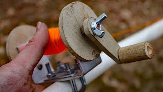 Download Homemade rod and reel fishing challenge!!!! Video