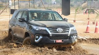 Download 2016 Toyota Fortuner Off-road Drive Video